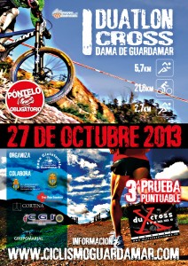 Cartel I Duatlon Guardamar